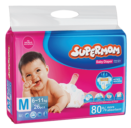 Supermom Baby Diaper Medium