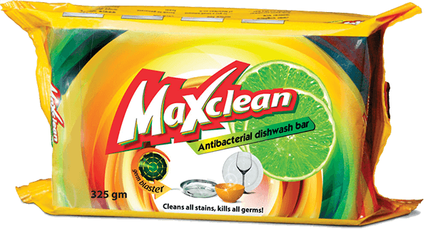 Maxclean Antibacterial Dishwash Bar