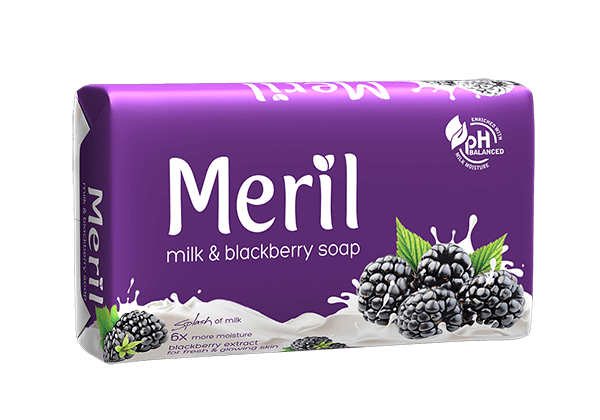 Meril Milk & Blackberry Soap