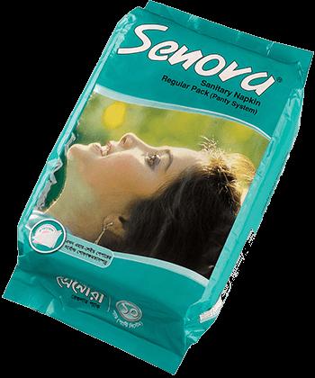 Senora Sanitary Napkin Regular Pack (Panty System)