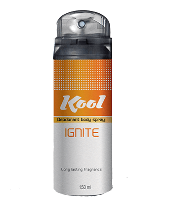 Kool Deodorant Body Spray (Ignite)