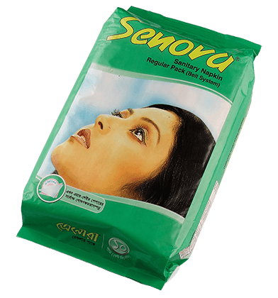 Senora Sanitary Napkin Regular Pack (Belt System)