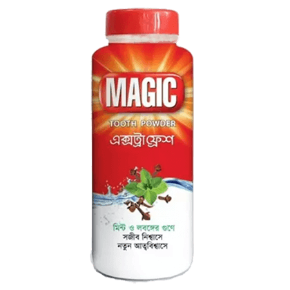 Magic Extra Fresh Tooth Powder